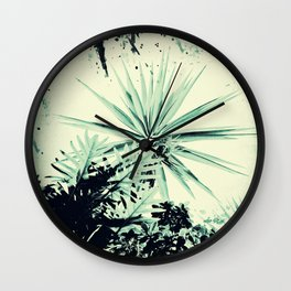 Abstract Urban Garden Wall Clock