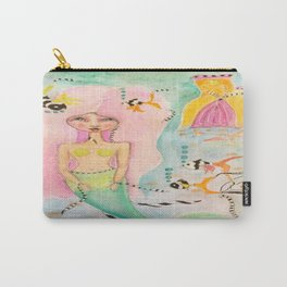 Little Mermaid Princess Carry-All Pouch