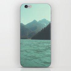 Desolation is beyond the horizon - Diablo Lake iPhone & iPod Skin