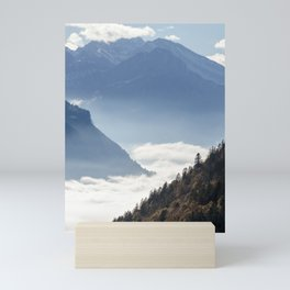 Swiss Alps Mini Art Print