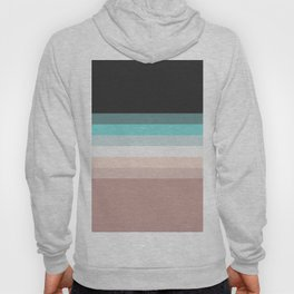 Charcoal, blue and pink pastel blend Hoody