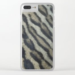 Natural Beauty Clear iPhone Case