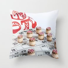 Lotto Throw Pillow