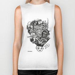 Freak Style Graphic Biker Tank