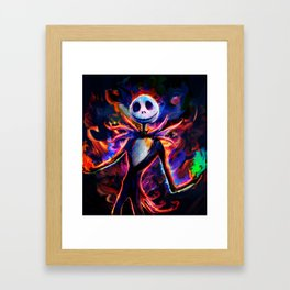 nightmare before christmas 2 Framed Art Print