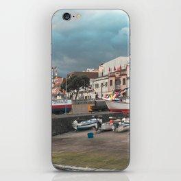 Portuguese harbour iPhone Skin