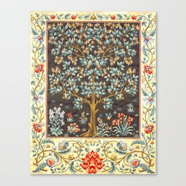 "William Morris ""Tree of life"" 1. Canvas Print"