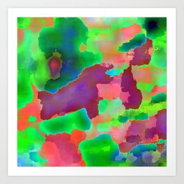 Pillow #5 Art Print