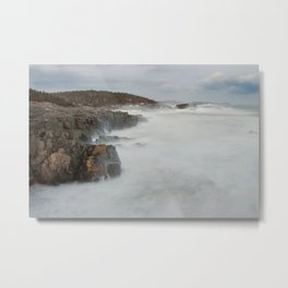 Rockey Shore Metal Print
