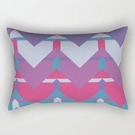 Cool Waves #society6 #violet #pattern Rectangular Pillow