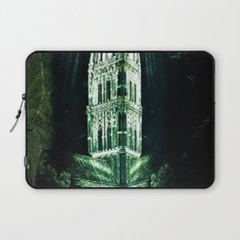 Memorial Glass Prism Engraving at Salisbury Cathedral by Rex Whistler Laptop Sleeve