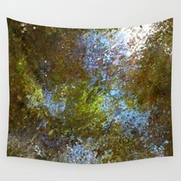 watercolor splash Wall Tapestry