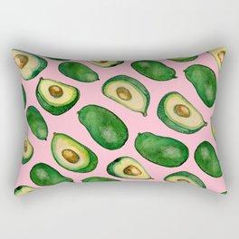 pink avacado Rectangular Pillow