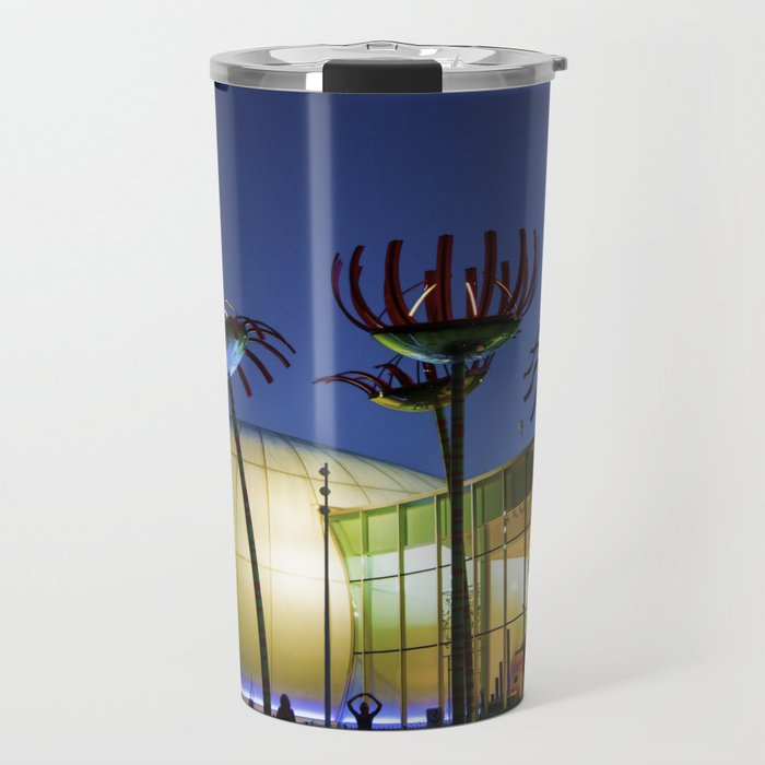 Seattle Glass Flowers - Chihuly Garden Travel Mug
