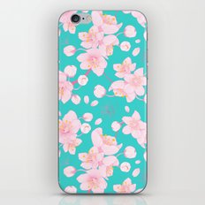 sakura blossoms iPhone & iPod Skin