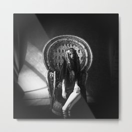 Queen Darkly Metal Print
