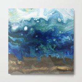 Ocean Surge Metal Print