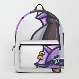 Pirate Dinosaurs eyepatch Captain Gift Backpack