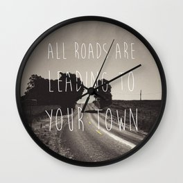 Days End. Wall Clock