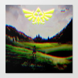 Psychedelic Tri Force Canvas Print