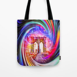 New York Brooklyn Bridge 2 Tote Bag