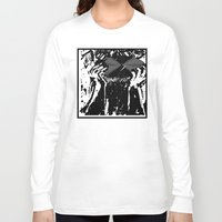 vinyl Long Sleeve T-shirts featuring Vinyl by Spew Jersey