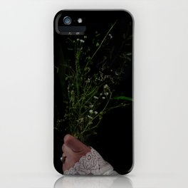 I Brought You Wildflowers But All You Saw Were Weeds iPhone Case