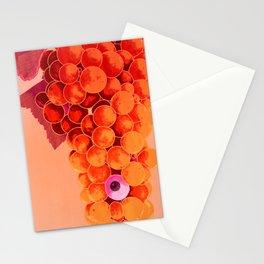 Grapes at Sunriseye (Version B) Stationery Cards