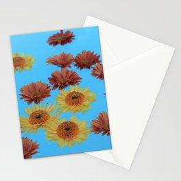 Flower bath Stationery Cards