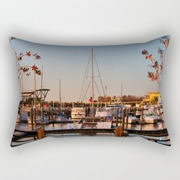 Northern Riverfront Rectangular Pillow