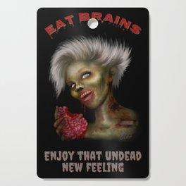 Eat Brains Cutting Board