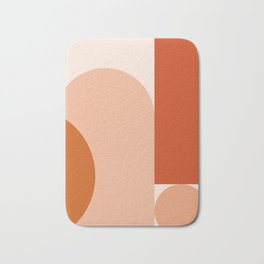 abstract minimal #8 Bath Mat