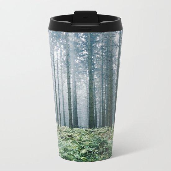 Forest adventures at dusk Metal Travel Mug