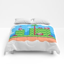 Tiny Worlds - Super Mario Bros. 2: Mario Comforters