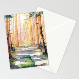 Down The Forest Path Stationery Cards
