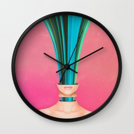 My Other Face Is A Cactus Wall Clock