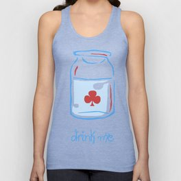drink me Unisex Tank Top