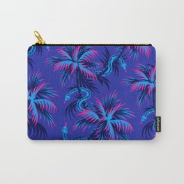 Snake Palms - Blue Pink Carry-All Pouch