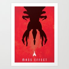 Mass Effect Print Art Print