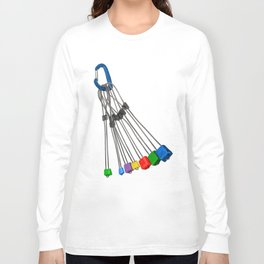 Rock Climbing Wires Long Sleeve T-shirt