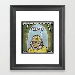 Mable Framed Art Print
