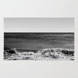 BEACH DAYS XVI BW Rug