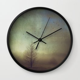 Mystery and Imagination Wall Clock