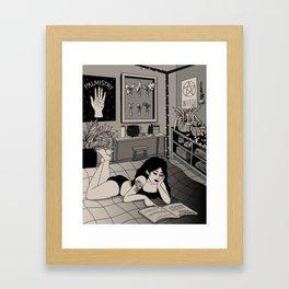 Plant Mom Framed Art Print