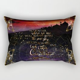 Constellation - The Star Touched Queen Rectangular Pillow