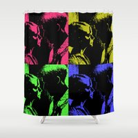 drive Shower Curtains featuring Drive by Bolin Cradley Art