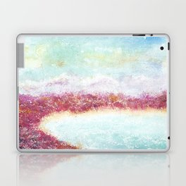 Paradise Watercolor Art Illustration. Laptop & iPad Skin