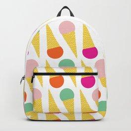 Ice Cream Cone 01 Backpack