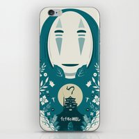 spirited away iPhone & iPod Skins featuring Spirited by Duke Dastardly