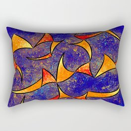 Delissianum V1 - dancing fire Rectangular Pillow